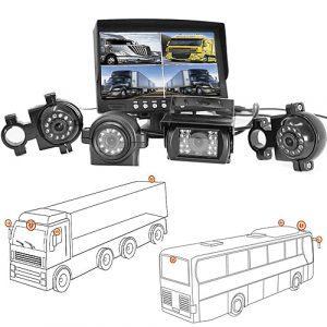 4 Heavy Duty Rückfahrkamera für LKW, Bus & Transporter