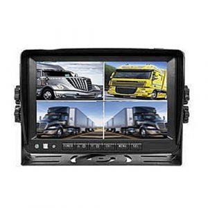 7 Zoll Stand Monitor für Rückfahrkamera. Bis zum 4 Videos anzeigen