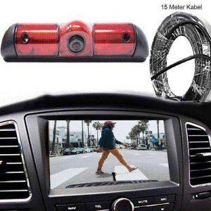 3. Bremslicht Rückfahrkamera mit Sony CCD Chipset für Fiat Ducato, Peugeot Boxer & Citroen Jumper