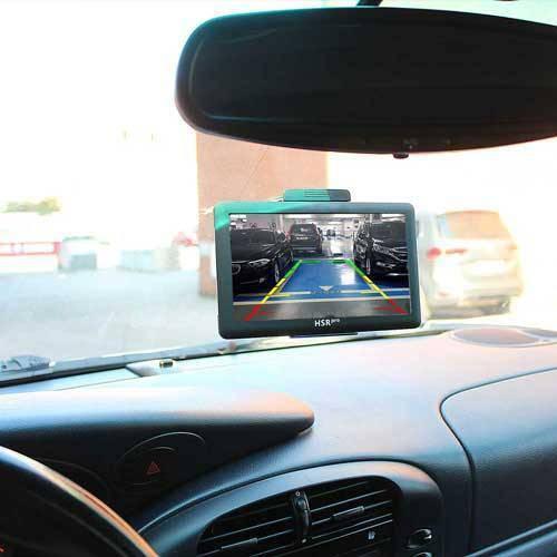 7″ Touchscreen Navigationssystem mit Heck Bremslicht Rückfahrkamera