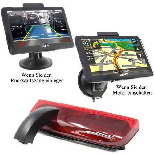 7″ Touchscreen Navigationssystem mit Rückfahrkamera für Ford Transit Connect 2014 – 2017