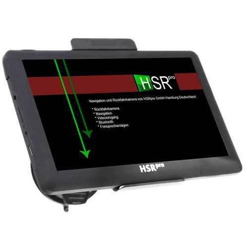 7″ Touchscreen Navigationssystem mit Rückfahrkamera für Mercedes Sprinter und VW Crafter
