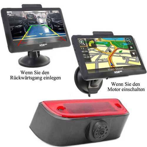 7″ Touchscreen Navigationssystem mit Rückfahrkamera für Nissan NV200