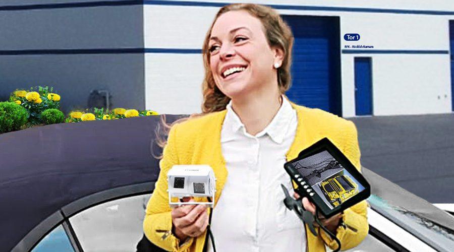 Rückfahrkamera und Einparkhilfe
