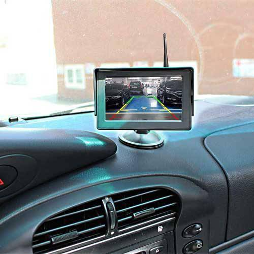 Cube Kabellose Rückfahrkamera, Autoscheibe Monitor