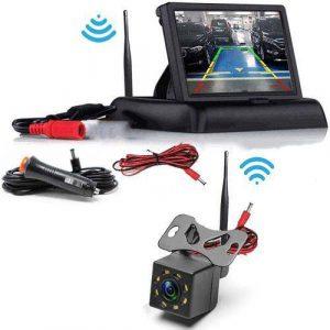 Cube Kabellose Rückfahrkamera, Flip Monitor
