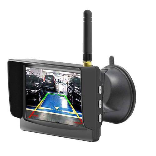 Digital Kabellose Rückfahrkamera mit Eingebautem Funk im Monitor
