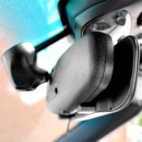 Dynamische Funk Rückfahrkamera mit Spiegel Monitor als Komplettset