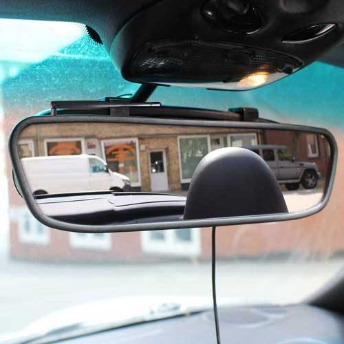 Dynamische Kabellose Rückfahrkamera mit Spiegel Monitor als Komplettset