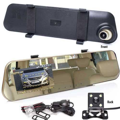 HD Dashcam mit Rückfahrkamera zum Einparken mit automatischem Wechsel