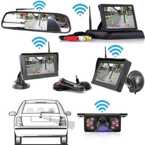 Heck Kabellose Rückfahrkamera Opt. Monitor mit bis zu 5 Jahre Garantie