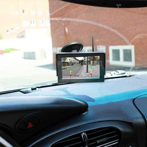 Heck Kabellose Rückfahrkamera Inkl. Monitor mit bis zu 5 Jahre Garantie