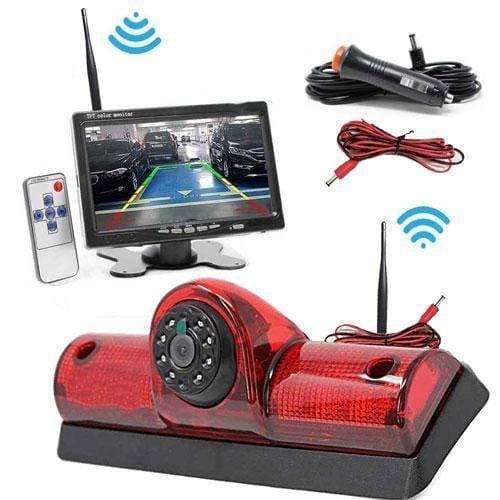 Kabellose Rückfahrkamera mit 7 zoll Monitor für Nissan Cargo und Nissan NV Passenge