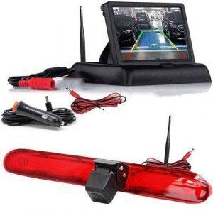 Kabellose Rückfahrkamera mit Flip Monitor für Peugeot Expert, Citroen Dispatch & Toyota Proace