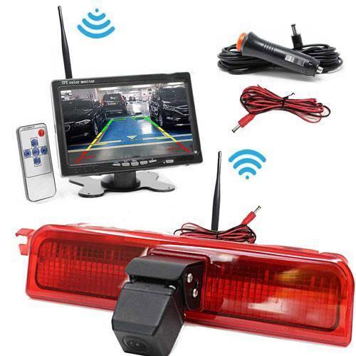 Kabellose Rückfahrkamera VW Candy mit 7 zoll Monitor