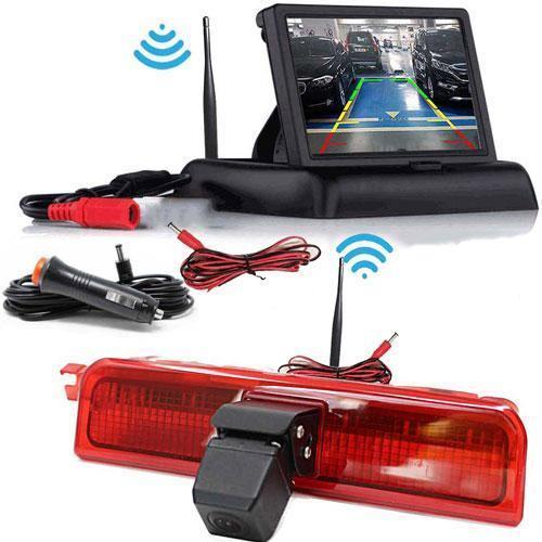 Kabellose Rückfahrkamera VW Candy mit Flip Monitor