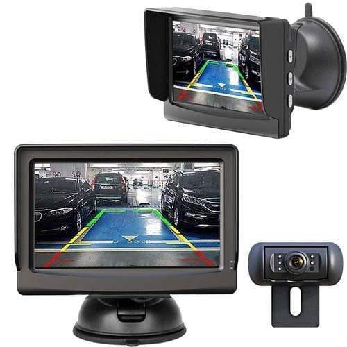 Klammen Rückfahrkamera mit Monitor