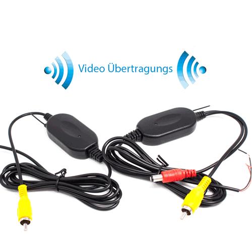 RFK-15  Video Transmitter, Sender und Empfänger für Kabellose Funk Rückfahrkamera