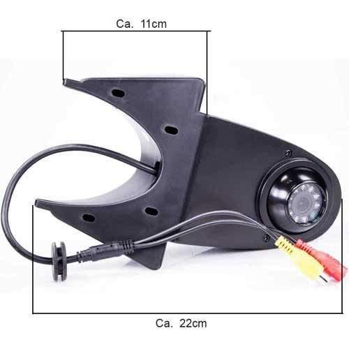 RFK-53 Rückfahrkamera für Transporter inkl. Monitor - Bis zu 5 Jahre Garantie