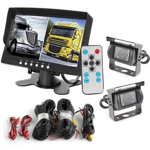 RFK-6 Rückfahrkamera für Lkw und Bus inkl. Monitor - Bis zu 5 Jahre Garantie