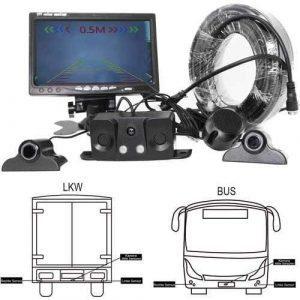 RFK-96 Nutzfahrzeug Rückfahrkamera mit Parksensor - Bis zu 5 Jahre Grantie