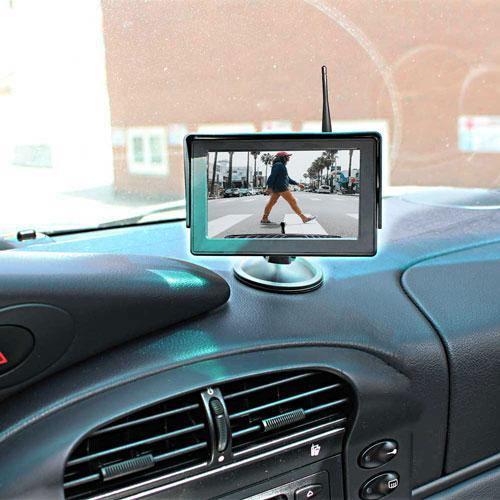 "Rückfahrkamera für Citroen Jumpy, Peugeot Expert, und Toyota Proace. Digitale Kabellos & 5"" Monitor mit Sony CCD Chipset"