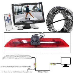 """Rückfahrkamera für Ford Transit. 7"""" Monitor mit Sony CCD Chipset"""