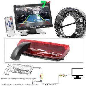 Rückfahrkamera für Ford Transit Connect 7 zoll Monitor