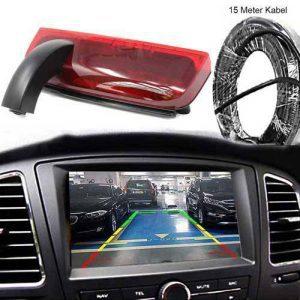Rückfahrkamera für Ford Transit Connect mit 15 Meter Videokabel