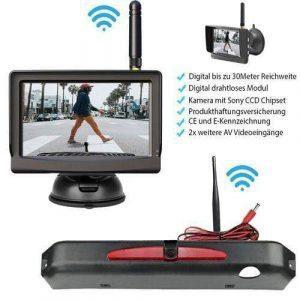 "Rückfahrkamera für Iveco Daily-2017. Digitale Kabellos & 5"" Monitor mit Sony CCD Chipset"