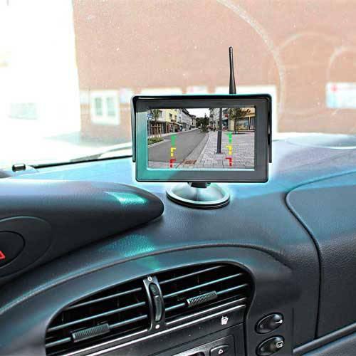 Rückfahrkamera für Mercedes Sprinter und VW Crafter inkl. Monitor - Bis zu 5 Jahre Garantie