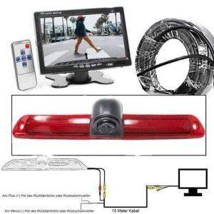 """Rückfahrkamera für Mercedes Sprinter & VW Crafter. 7"""" Monitor mit Sony CCD Chipset"""