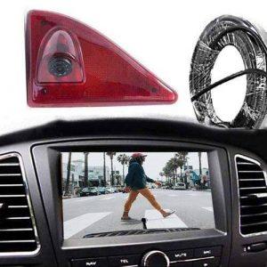 Rückfahrkamera für Renault Master, Nissan NV400 und Opel Movano im 3. Bremslicht mit Sony CCD Chipset