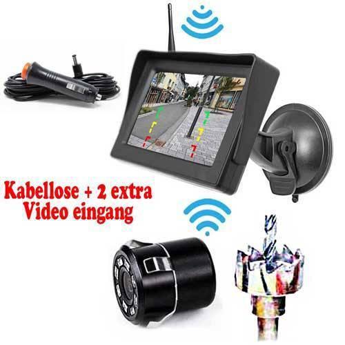 Stoßstange Rückfahrkamera Inkl. Monitor - Bis zu 5 Jahre Garantie