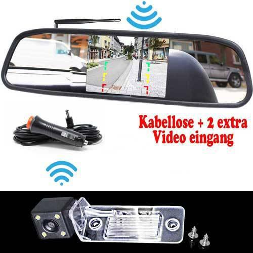VW Passat Rückfahrkamera inkl. Monitor - Bis zu 5 Jahre Garantie  für VW Touareg, VW Touran & VW POLO Sedan