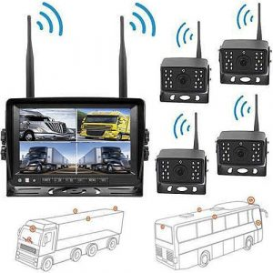 Guad Digitale Rückfahrkamera mit HD Monitor & Videoaufnahme