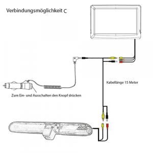 Videokable VW T6 Rückfahrkamera mit Rückfahrmonitor BJ. ab 2016 einbauanleitung -